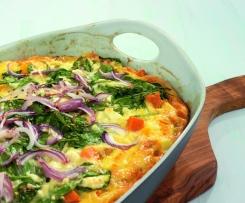 Zeleninová frittata